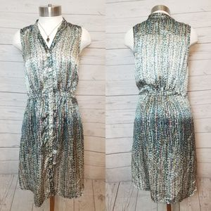 Notice Silk Dress